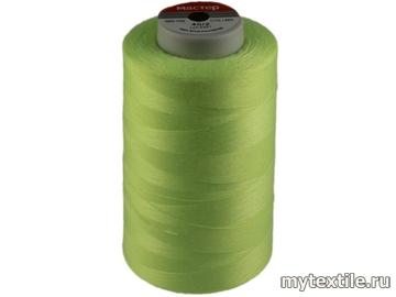 Нитки 00201 салатовый, зеленый полиэстер - 100% Китай