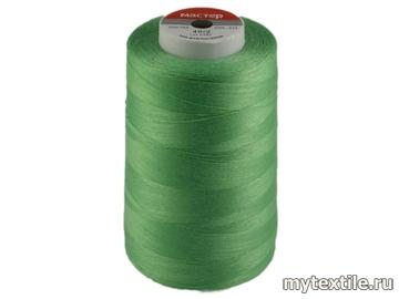 Нитки 00203 зеленый полиэстер - 100% Китай
