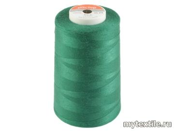 Нитки 00215 зеленый полиэстер - 100% Китай