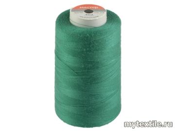 Нитки 00218 зеленый полиэстер - 100% Китай