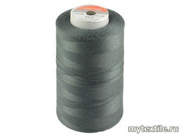 Нитки 00224 серый полиэстер - 100% Китай