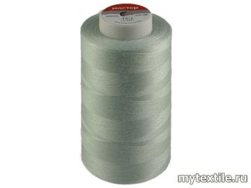 Нитки 00229 серый полиэстер - 100% Китай