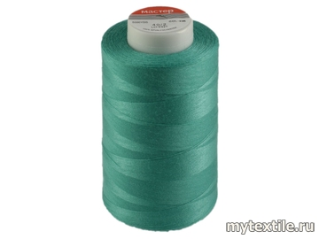 Нитки 00235 голубой, бирюза полиэстер - 100% Китай
