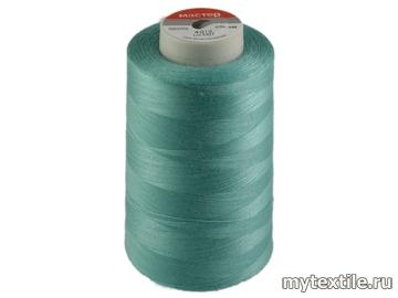 Нитки 00236 голубой, бирюза полиэстер - 100% Китай