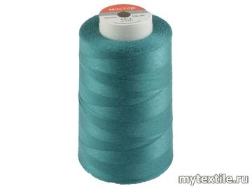 Нитки 00245 голубой полиэстер - 100% Китай