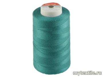 Нитки 00246 голубой полиэстер - 100% Китай