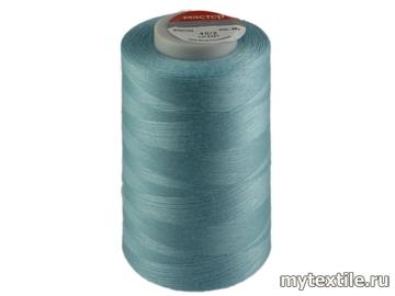 Нитки 00252 голубой полиэстер - 100% Китай