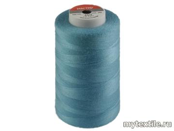 Нитки 00254 голубой полиэстер - 100% Китай