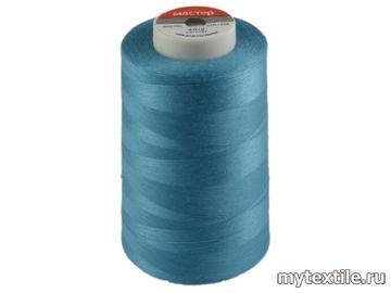 Нитки 00258 голубой полиэстер - 100% Китай