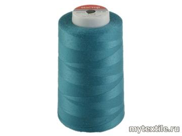 Нитки 00262 голубой полиэстер - 100% Китай