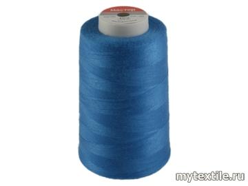 Нитки 00264 синий, васильковый полиэстер - 100% Китай