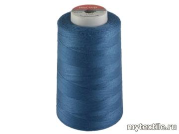 Нитки 00268 синий, васильковый полиэстер - 100% Китай