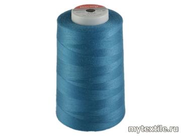 Нитки 00269 голубой полиэстер - 100% Китай