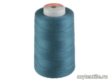 Нитки 00270 голубой полиэстер - 100% Китай
