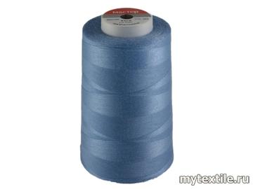 Нитки 00283 голубой полиэстер - 100% Китай