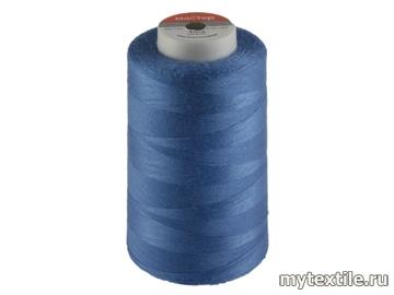 Нитки 00287 синий, голубой  полиэстер - 100% Китай