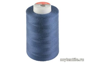 Нитки 00300 синий полиэстер - 100% Китай