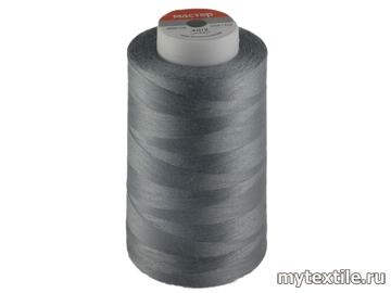 Нитки 00310 серый полиэстер - 100% Китай
