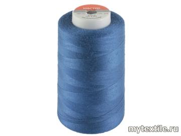 Нитки 00315 синий, васильковый полиэстер - 100% Китай