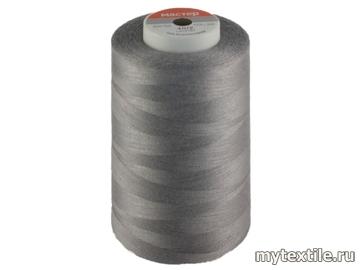 Нитки 00334 серый полиэстер - 100% Китай