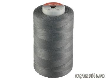 Нитки 00337 серый полиэстер - 100% Китай