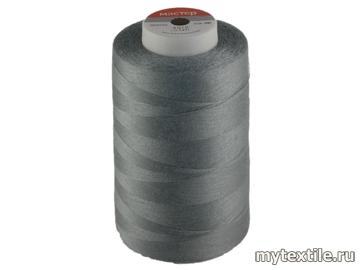 Нитки 00340 серый полиэстер - 100% Китай