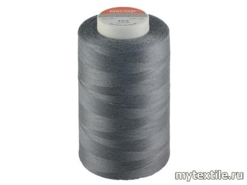 Нитки 00343 серый полиэстер - 100% Китай