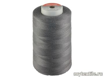 Нитки 00344 серый полиэстер - 100% Китай