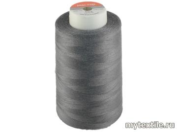 Нитки 00346 серый полиэстер - 100% Китай
