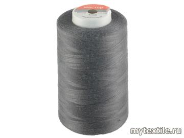 Нитки 00347 серый полиэстер - 100% Китай