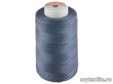 Нитки 00350 синий полиэстер - 100% Китай