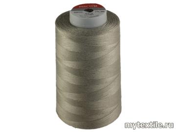 Нитки 00355 серый полиэстер - 100% Китай