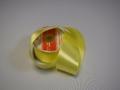 """Атласная лента al-020 """"Желтая"""" 03"""